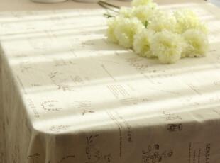 日式 zakka 风情 棉麻 桌布/台布/餐桌布/盖布-【Mr.Rabbit】系列,桌布,