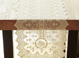 现货!韩国定做高档欧式 田园装饰蕾丝电视柜桌布 桌旗SP13-30,桌布,