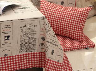 亲近自然 棉麻质地 镶边桌布/台布/茶几布/盖布/California系列,桌布,