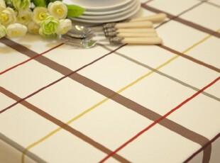 新品! 纯棉桌布台布餐桌布盖布茶几布桌垫格子布艺普罗旺斯,桌布,