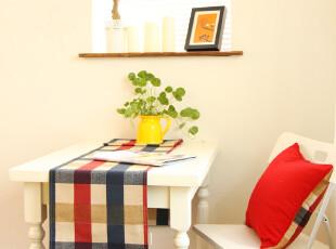 双面 格子 桌旗 桌布 台布 盖布 茶几布 【Edin】 MR兔先生家居,桌布,