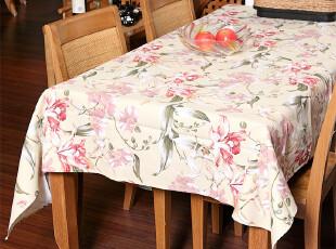 中式田园 原创设计彰显灵魂的色彩 帆布桌布 台布 餐桌布 可定做,桌布,