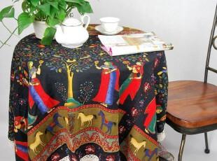 花样时光 印度风菩提花园台布桌布餐桌布1.8m,桌布,