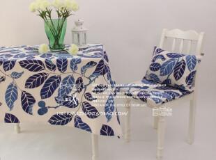 订做各种尺寸桌布/台布/沙发巾/桌旗/盖布/茶几布/pax-帕克斯/蓝,桌布,