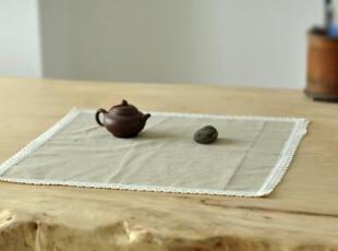 原创 亚麻素色 简约 桌布 餐桌垫 台布 盖布 田园 可定制,桌布,