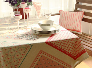 北欧波西米亚风情 棉麻 桌布/台布/餐桌布/盖布-【弗拉明戈】系列,桌布,