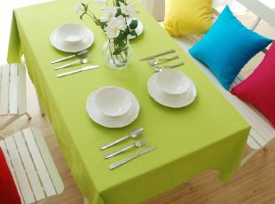 糖果色桌布/纯棉活性帆布 台布、桌布、盖布、餐桌布 单色 纯色,桌布,