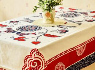 布络 长方形桌布 布艺餐桌布 中式台布 喜庆方桌布 餐台巾 茶几,桌布,