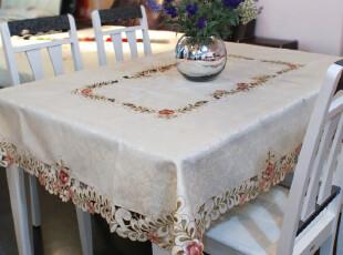 小艾家居 809 田园欧式奢华 茶几桌布/桌旗台布餐垫餐桌布 布艺,桌布,