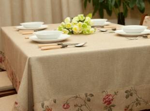 【麦森】布艺桌布/台布/餐桌布/盖布/茶几布/桌垫 Brook,桌布,