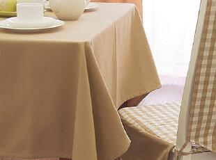 包邮! 桌布 台布 餐桌布 格子桌布 布 欧11.Evert格纹驼色,桌布,