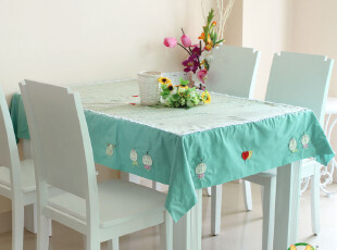 卡通/日式布艺台布餐布/圆桌餐桌布/茶几布/餐椅套椅垫/,桌布,