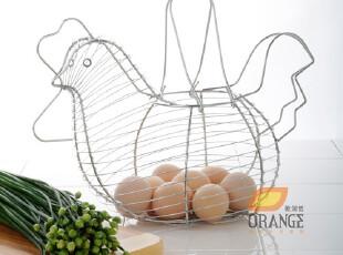 鸡蛋篮 水果篮宜家收纳筐 桌面收纳篮日本厨房收纳架韩国厨房用具,桌面收纳,