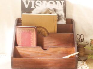 木质复古收纳盒 桌面收纳 杂物收纳 zakka 杂货,桌面收纳,