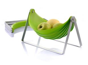 纳川  时尚创意折叠水果篮/水果盘 桌面收纳架 {居家办公双用},桌面收纳,