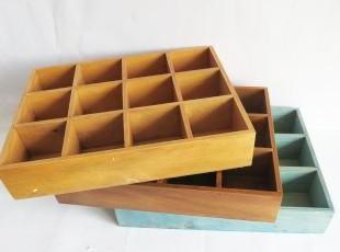 ZAKKA 木制桌面收纳 居家饰品杂物收纳盒 12格可挂储物盒本月特价,桌面收纳,