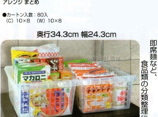日本进口SANADA厨房收纳框 家居收纳筐 镂空收纳 桌面收纳 5032,桌面收纳,