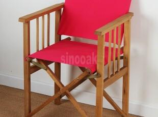 外贸原单户外休闲实木非柞木白橡木导演椅帆布椅咖啡椅折叠电脑椅,椅凳,