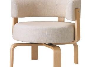 木丁家居简约田园北欧宜家电脑转椅 单人休闲椅子 懒人沙发椅圈椅,椅凳,