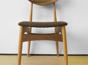 无印良品风 实木椅子 橡木 餐椅 外贸 日式 宜家 简约复古 促销,椅凳,