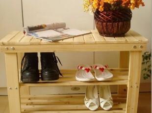 三层换鞋凳/鞋架/置物架/鞋柜/环保健康无油漆,椅凳,