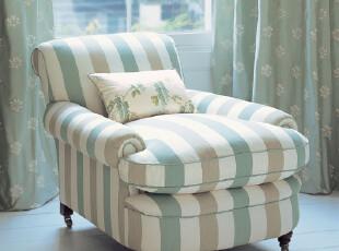 东居 高档 美式沙发 地中海沙发 北欧宜家风格 单人沙发 单人椅,椅凳,