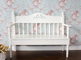 促销甜美公主系列蝴碟结靠背椅白色田园家具阳台休闲椅凳双人椅,椅凳,
