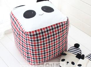 新品 可爱熊猫先生坐凳 卡通坐凳 休闲凳 换鞋凳,椅凳,