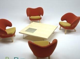 羊角椅 沙发椅 休闲椅 接待椅 时尚简约 名款高档 舒适 新款特价,椅凳,
