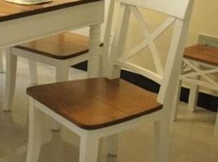 2012地中海田园普罗旺斯面蜜下白餐厅家具全实木餐椅子 可定制  |,椅凳,