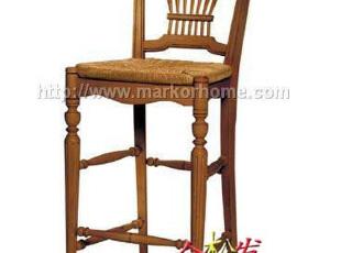 (仿美克美家)玫颂麦背吧椅/美式吧椅/美式家具,椅凳,