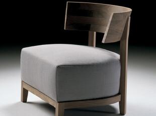 【美度空间】椅子 单人 咖啡沙发椅 经典设计 个性样板间家具定制,椅凳,