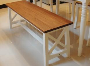 韩式实木长凳 换鞋凳 床尾凳 梳妆凳 特价江浙沪包邮,椅凳,