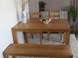 出口家具 全实木餐凳 凳子 长凳 餐椅 床尾凳 白橡木家具 非柞木,椅凳,