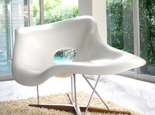 的确良-创意时尚抽象个性简约 躺椅贵妃椅卧室白色EAMES LA chair,椅凳,
