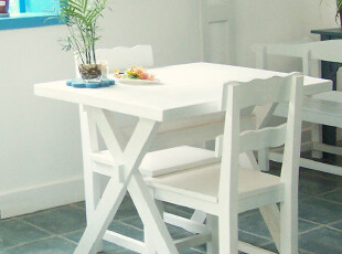 地中海家具 实拍! 实木 爱琴海的珍珠餐椅 靠背椅 【预定】00-1,椅凳,