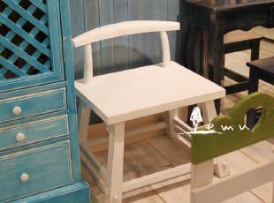 地中海家具 实拍!复古原木大班椅 餐椅 书椅【预定】00-1,椅凳,