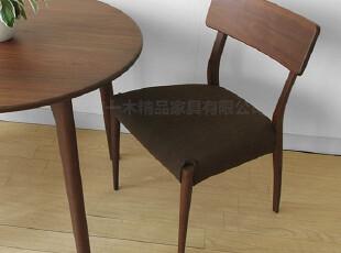 emvo日式家具 北欧风格 纯实木餐椅 水曲柳YC-61餐椅 新品推荐,椅凳,