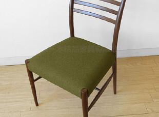 emvo 日式家具 北欧风格 水曲柳纯实木  YC-62餐椅 软座垫,椅凳,