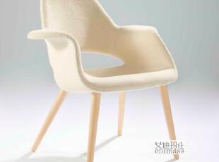 艾迪玛仕家具 实木椅子 沙发椅 现代简约书房椅子 休闲书椅CH7201,椅凳,