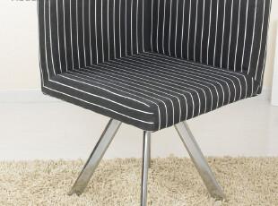 皇冠【黑白调】沙发可物流配送HXXY05休闲布艺现代宜家椅包邮,椅凳,