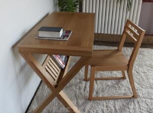 原始原素 全实木家具 白橡木餐桌椅 凳子 长凳 餐椅,椅凳,