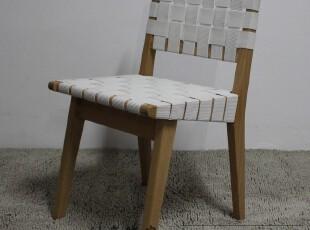 Risom Side Chair/接待椅/休闲椅/名设计椅子/实木椅/榉木绑带椅,椅凳,