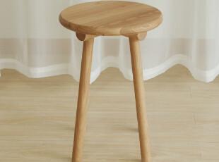 S06橡木凳子|美国白橡|木蜡油|实木|木智工坊家具,椅凳,