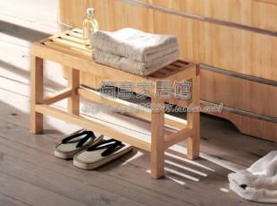 【简意】外贸出口欧洲原单/实木家具/橡胶木/木凳,椅凳,