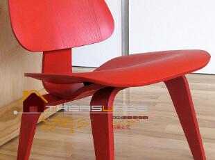 时尚休闲 曲木椅子 会客 矮椅 创意 接待椅 北欧风格 红色椅现代,椅凳,