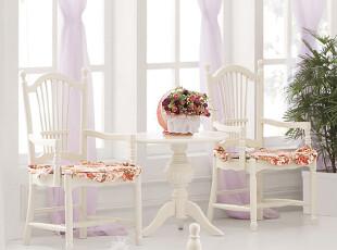 【方格诚品】韩式家具 田园式休闲椅 餐椅,椅凳,
