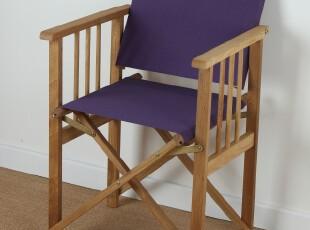 热销外贸 纯实木家具 非柞木帆布椅 白橡木 户外折叠椅 导演椅,椅凳,