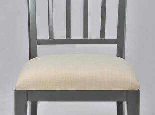 2012地中海田园美式乡村 格子后背 实木多色椅子 餐椅 书桌椅,椅凳,