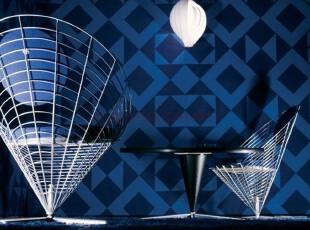Wire_cone chair餐椅铁丝网椅接待椅圆盘腿时尚简约特价红黑白色,椅凳,